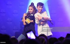 Johnny Orlando & Mackenzie Ziegler perform during their 'Day & NIght' tour at Mr Smalls on October 28, 2017 in Millvale, Pennsylvania.