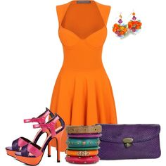 """""""Colorful"""" by barbarapoole on Polyvore"""