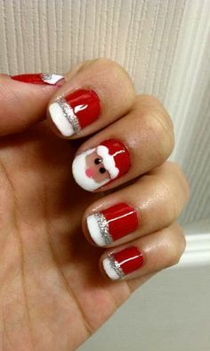Christmas Nail Art Ideas | StyleCaster