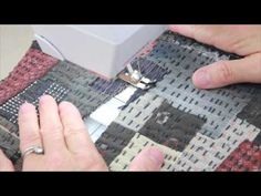 Boro Inspired Reversible Loop Bag - YouTube