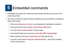 Embedded Commands