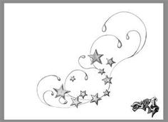 I want something similar tattooed on the top of my foot with a star for each one of my sweet babies :)