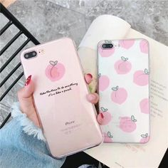 Lovely Fruit Peach Strawberry lemon Pattern Transparent Case for iPhone 6 8 P - Thin Iphone 8 Case - Thin Iphone 8 Case ideas - Lovely Fruit Peach Strawberry lemon Pattern Transparent Case for iPhone 6 8 Plus X 7 Soft TPU Back Cover Phone Cases Iphone 6 Cases Clear, Iphone 6 Plus Case, Iphone Phone Cases, Phone Covers, Girl Phone Cases, Funny Phone Cases, Silicone Phone Case, Decoden, Telephone