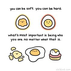Cute and motivational drawings to brighten your day! ^^ I started chibird in my second year of high school, and now I've graduated college! Cute Inspirational Quotes, Cute Quotes, Happy Quotes, Funny Quotes, Uplifting Quotes, Qoutes, Motivational Quotes, Cute Puns, Funny Puns