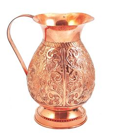 Copper Pitcher Traditional