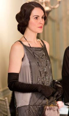 downton abbey fashion | Lady Mary Crawley