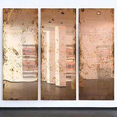 "lafilleblanc: "" Walead Beshty A Diagram of Forces, 2011 "" Museum Exhibition, Installation Art, Art Boards, Contemporary Art, Sculptures, Instagram Posts, Artwork, Copper, Diagram"