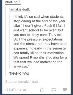 This is sadly so very true<this is why my grades have been on a downward spiral