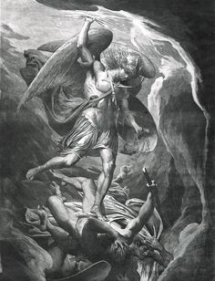 James Barry (Irish; 1741–1806)The Fall of Satan. Etching and aquatint in brown ink, 1777.