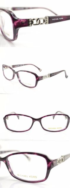 290046ac116 Eyeglass Frames     Mk217 502 New Authentic Michael Kors Purple Eyeglasses  Frame 54-
