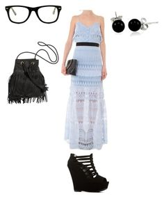 """""""Sunday 4.24.16"""" by fashionqueen1995 on Polyvore featuring self-portrait, Muse and Bling Jewelry"""