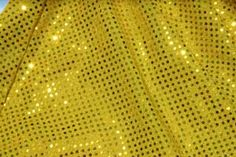 Yellow Sparkle Skirt Size Small!