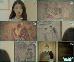 hae soo saw all the paintings with king, wang jung, wang wook and king