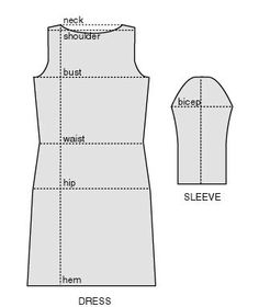 DIY sweater dress