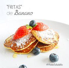 Postres Saludables | Fritas de banano saludables | http://www.postressaludables.com