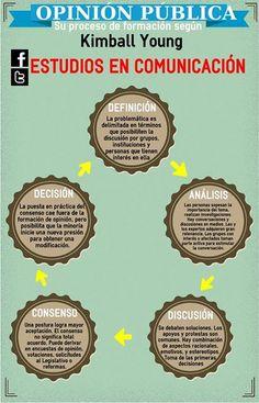 El proceso de formación de la opinión pública | Las cinco etapas del proceso que moldea la forma de pensar de las mayorías.