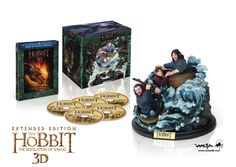 The Hobbit: The Desolation of Smaug Extended Edition Amazon Exclusive Blu-ray
