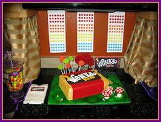 Wonka Bar Cake
