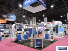 Graphics on Fabric, Low Weight, Easy set up & Ready to do business #tradeshow #impact www.exhibitassociates.com