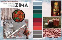 """FW 14/15 Intimates Inspirations - """"ZIMA"""" - eColorWorld"""
