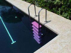 // Ettore Sottsass pool step, Cap d'Antibes