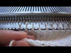 Tejido a Maquina: Falso elástico - YouTube