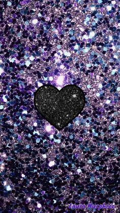 Colorful glitter phone wallpaper sparkle background #GlitterBackground