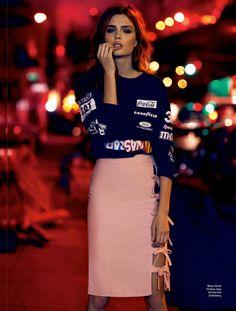 josephine skriver elle3 Josephine Skriver Poses in Brooklyn for Elle Brazil Cover Shoot