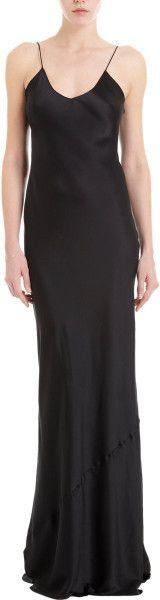 Nili Lotan Black Cami Dress