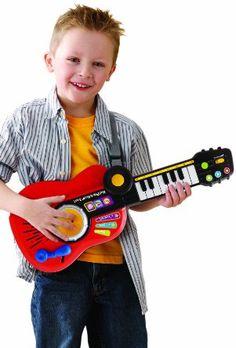 Vtech - 109605 - Instrument de Musique - Kidi'Rock - 3 en 1: Amazon.fr: Jeux et Jouets
