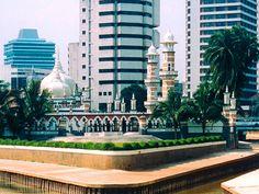 Masjid Jamek, Kuala Lumpur, Malasiya
