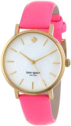 kate spade new york Women's 1YRU0180 Bazooka Pink Watch