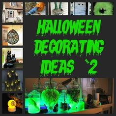 Halloween Decorating Ideas & Inspirations #2