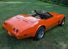 Corvettes at Carlisle attracts the best Corvettes from all over the country. Steven Boyd's 1975 Corvette Roadster was a standout among Kings. 1975 Corvette, Chevrolet Corvette, Chevy, Vintage Cars, Antique Cars, Beetle Car, Corvette Convertible, Car Photos, Car Show