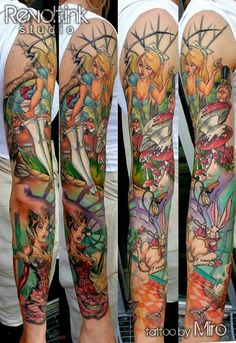 This Alice tattoo though.
