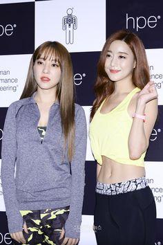 Woori and Seungah