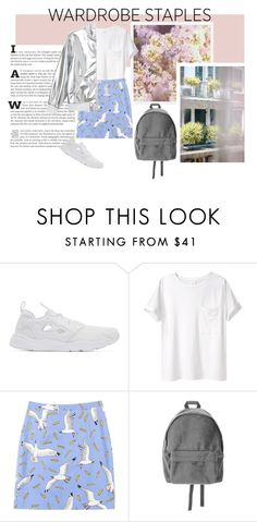 """Fresh my green head babe / Take Shelter - Years & Years"" by pgrndjn ❤ liked on Polyvore featuring Reebok, AR SRPLS, Monki and Thomsen Paris"