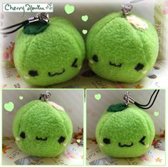 Peas, too cute! I want to make these!