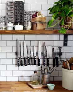 Less counters pace than knife block and more farmy