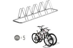 Indoor Bike Storage - 5 Bike Bicycle Floor Parking Rack Storage Stand by CyclingDeal >>> You can find more details by visiting the image link.