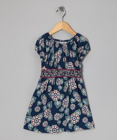 Take a look at this Lake Pasar Vines Dress - Infant & Girls by Tea on #zulily today!