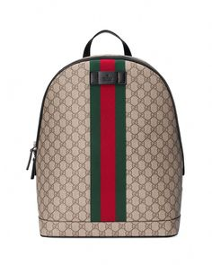 f41c801cc86 Gucci Men - GG Supreme interlocking G backpack - 223705KGDAX8588 ...