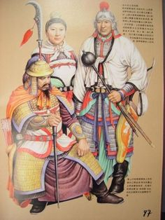 Ancient Chinese Army Uniforms - Five Dynasties and Ten Kindoms period (907 to 960)