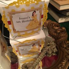 Belle / Beauty and the Beast Birthday Party Ideas | Photo 9 of 13