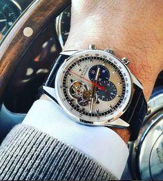 Zenith е една от най-впечатляващите компании на пазара. Изчистените и естетични дизайни, както и иновациите в технологиите, превръщат Zenith в един от най-добрите производители на часовници. #zenith #watches