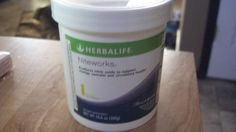 1 HERBALIFE NITEWORKS 10.6 OZ TASTY LEMON FLAVOR! HEART HEALTH!
