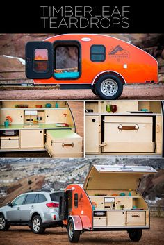 60 Beautiful Timberleaf Teardrop Camping Trailer For Your Happy Day. Each trailer is outfitted with one of the biggest skylights of any teardrop in the business. It's possible to also buy your trailer over the telephone. Small Camper Trailers, Tiny Camper, Small Campers, Camper Life, Camper Van, Airstream Trailers, Rv Campers, Travel Trailers, Micro Campers