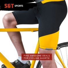 Awesome deal for cycling shorts! |SNT Sports