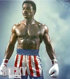 Carl Weathers as Apollo Creed Live Action, Movie Stars, Movie Tv, Rocky Film, Stallone Rocky, Rocky Steps, Muay Thai, Apollo Creed, Silvester Stallone