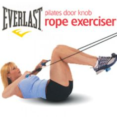 Pilates Door Knob Rope Exerciser, I want this.